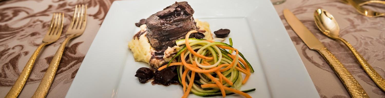 Steak & Veggie Plate