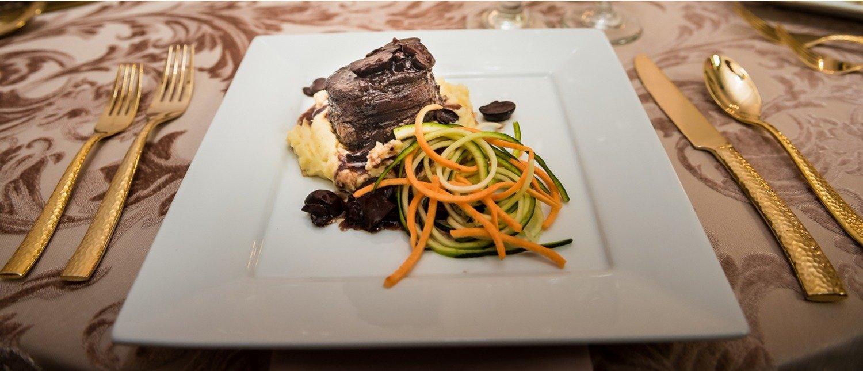 Steak & Vegetables Plate